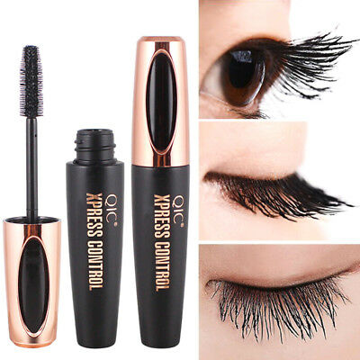 4D silk fiber eyelash mascara extension makeup black waterproof eye lash FG