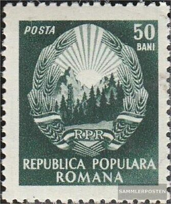 Romania 1376 unmounted mint / never hinged 1952 clear brands-State Emblem
