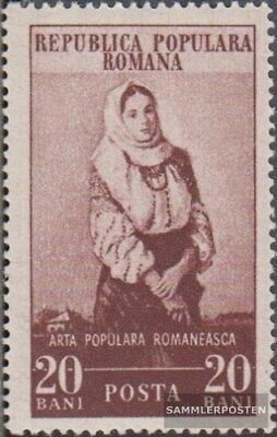 Romania 1431 unmounted mint / never hinged 1953 Romanian Folk