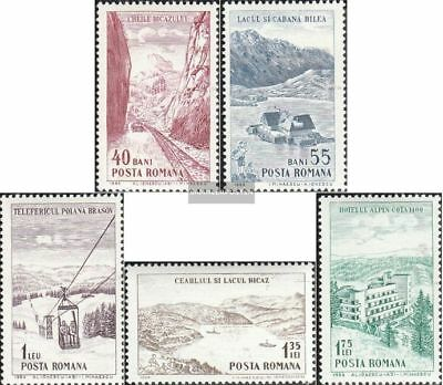 Romania 2294-2298 (complete.issue.) unmounted mint / never hinged 1964 Tourism