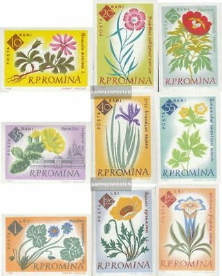 Romania 2020B-2028B (complete.issue.) unmounted mint / never hinged 1961 100 J.