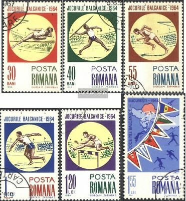 Romania 2299-2304 (complete.issue.) unmounted mint / never hinged 1964 Balkan Ga
