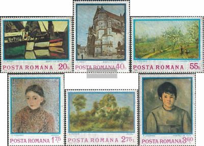Romania 3175-3180 (complete.issue.) unmounted mint / never hinged 1974 Impressio