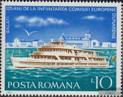 Romania 3775 (complete.issue.) unmounted mint / never hinged 1981 danube commiss