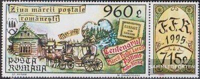 Romania 5109Zf with zierfeld (complete.issue.) unmounted mint / never hinged 199