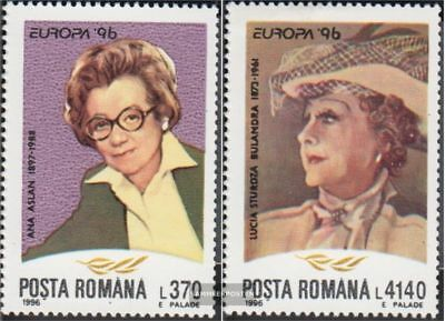 Romania 5174-5175 (complete.issue.) unmounted mint / never hinged 1996 Europe: F