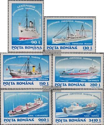 Romania 5093-5098 (complete.issue.) unmounted mint / never hinged 1995 Ocean-goi