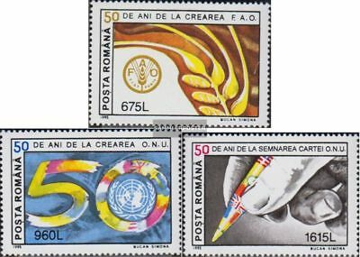 Romania 5073-5075 (complete.issue.) unmounted mint / never hinged 1995 50Jahre U