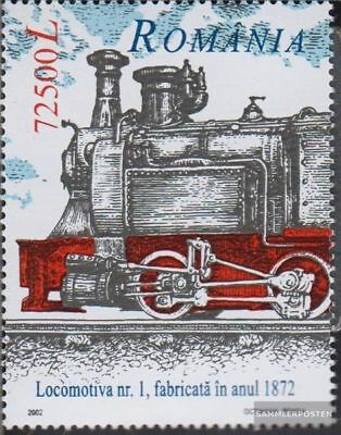 Romania 5687 (complete.issue.) unmounted mint / never hinged 2002 Dampflokomotiv