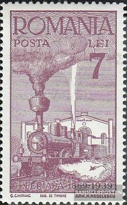 Romania 612 unmounted mint / never hinged 1939 Romanian Railway