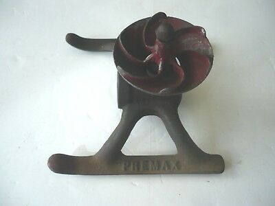 "Vintage 5""  Premax Turbine Iron Water Lawn Sprinkler Works"