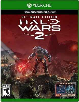Xbox One Xb1 Video Game Halo Wars 2 Ultimate Edition Brand New And Sealed