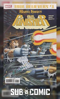 TRUE BELIEVERS PUNISHER BY GRANT & ZECK #1 (MARVEL 2018 1st Print) COMIC