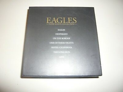 EAGLES Paper Sleeve Collection Japan 8 CD Box Set Please Come Home For Christmas