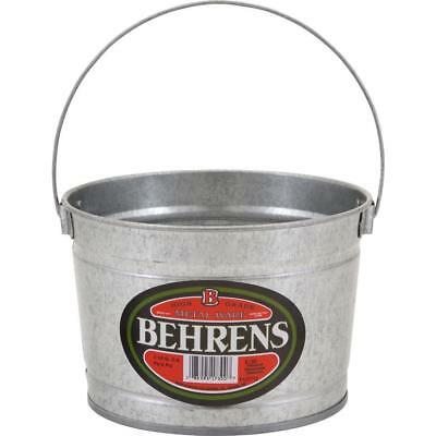 2.5 Qt. Galvanized Steel Utility Pail Made of Durable Galvanized