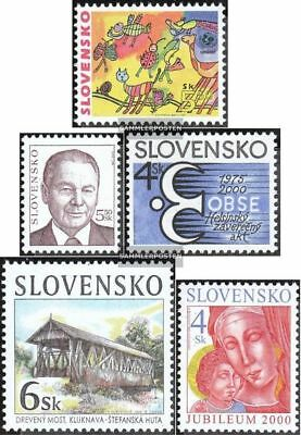 Slovakia 370,371,374,378,379 (complete.issue.) unmounted mint / never hinged 200