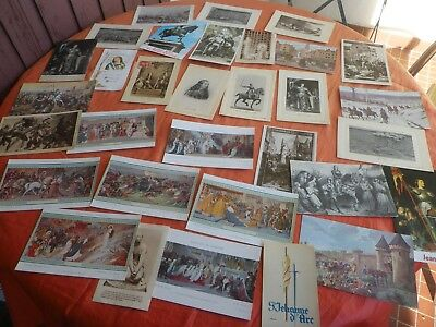 Jeanne D'arc French History  Postal Cards Heliogravure Neurdein Freres 1900