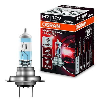 Osram H7 Night Breaker Unlimited Scheinwerferlicht Abblendlicht  12V 32142192