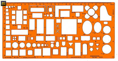 Graphoplex Architect graphe 1/50e Orange Transparent