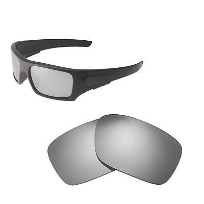 83ac85322e New Walleva Titanium Polarized Replacement Lenses For Oakley Det Cord  Sunglasses