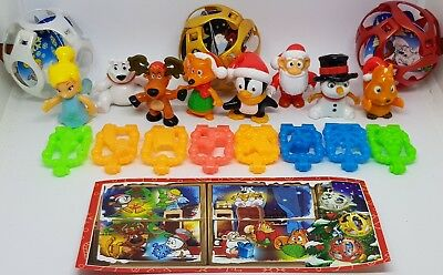 Kinder 2018, Christmas, Weihnachten, compl. set with all Bpz
