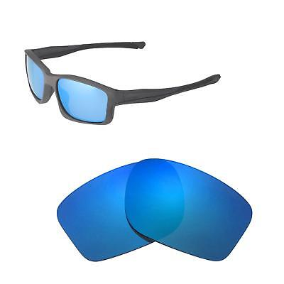 6320ff783cb9 Walleva Ice Blue Polarized Replacement Lenses For Oakley Chainlink  Sunglasses