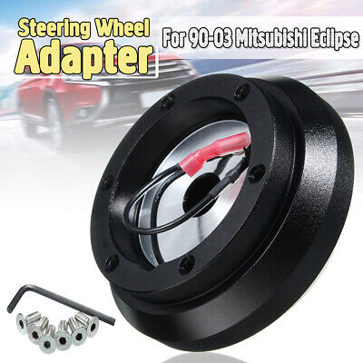 Car Steering Wheel Quick Release Short Hub Adapter Fit Mitsubishi Eclipse Subaru