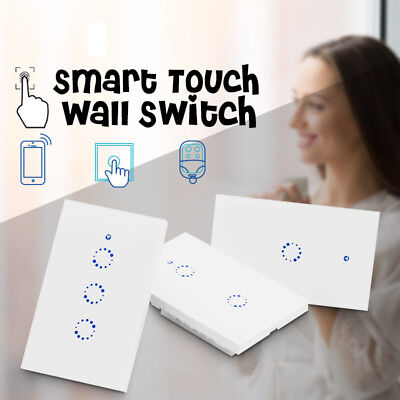 Sonoff 1 2 3 Gang Smart Wifi Wireless Switch Module Touch Ctrl For Google Home