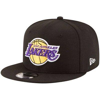 size 40 68450 60904 Los Angeles Lakers New Era Official Team Color 9FIFTY Adjustable Snapback  Hat -