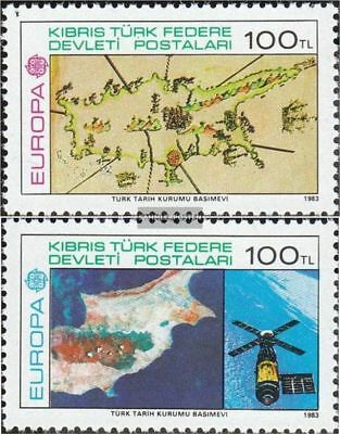 Turkish-Cyprus 127-128 (complete.issue.) unmounted mint / never hinged 1983 Euro