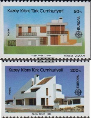 Turkish-Cyprus 205C-206C (complete.issue.) unmounted mint / never hinged 1987 Mo