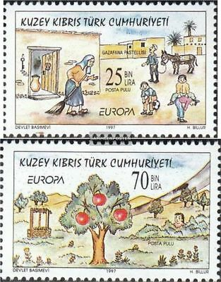 Turkish-Cyprus 449-450 (complete.issue.) unmounted mint / never hinged 1997 Say