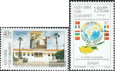 Turkish-Cyprus 473-474 (complete.issue.) unmounted mint / never hinged 1998 Cele