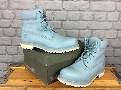 Details about Timberland Boots 6 Inch Size 4.5 5UK 65W US Womens Pale Pink RRP £180