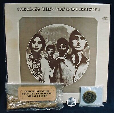 THE KINKS: THEN NOW AND INBETWEEN-Rare Original REPRISE #PRO-228 PROMO Psych NM-