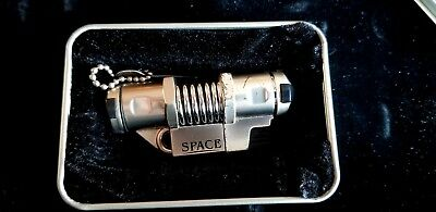 Nibo Space 6 Triple Flame Butane Torch Lighter ~ Used, Works, Original Gift Box