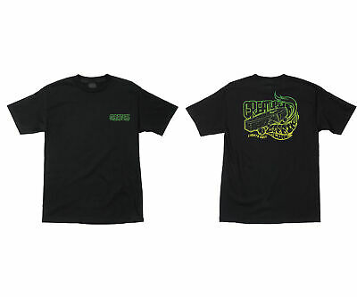 Creature Skateboard Shirt Coffin Club Black