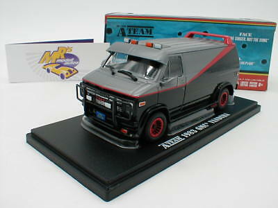 "Greenlight 86515 - GMC Vandura Baujahr 1983 in schwarz  von "" The A-Team "" 1:43"
