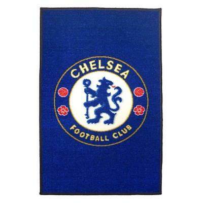 Chelsea FC Blue Floor Rug Official Xmas Birthday Fathers Day Gift Bathroom Kids