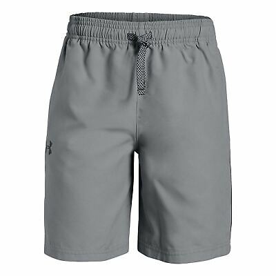Under Armour Kids Boys Core Woven Shorts Junior Pants Trousers Bottoms Mesh