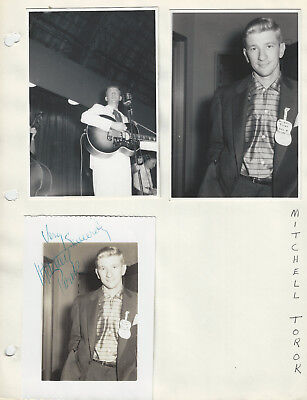 Mitchell Torok / Merle Travis / Wesley Tuttle Photos - Grand Ole Opry