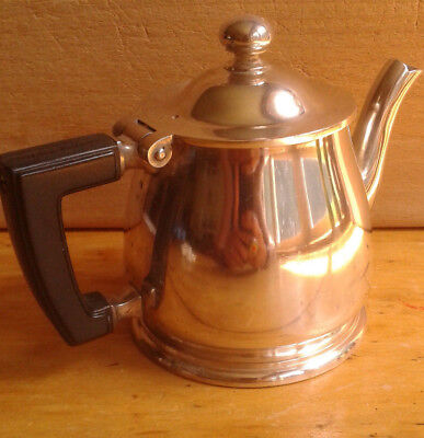 Vintage Wallace Hotel ware 8 oz. Tea Pot #28R  4 inches tall
