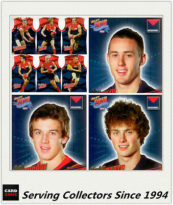 AFL Trading Card MASTER Team Collection-MELBOURNE-2010 Select AFL Champions