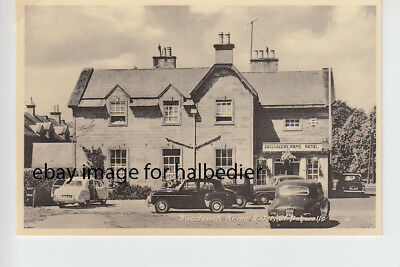 1950's cars at Buccleuch Arms Hotel, St Boswells, Roxburghshire