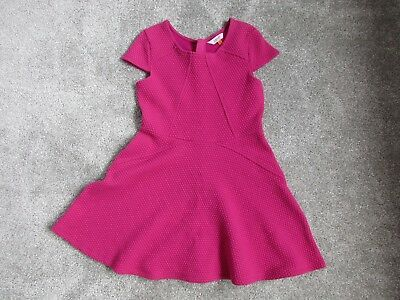 Girls Ted Baker Debenhams 8 9 Years Pink Dress Very Good Condition
