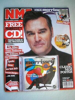 NME music magazine 19 June 2004 + free CD Morrissey Chili Peppers Oasis