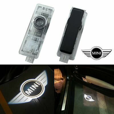 2/4X For BMW MINI CREE LED Courtesy Puddle Logo Laser Light Door Light Projector