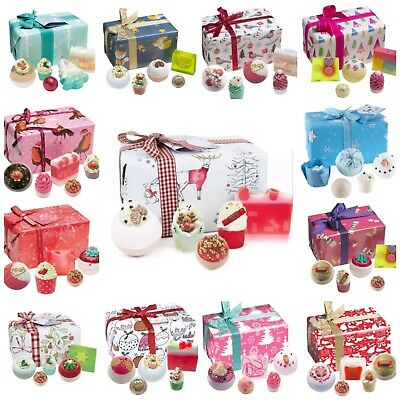 Bomb Cosmetics Christmas Bath Pamper Gift Sets Pre Wrapped All With Free Postage