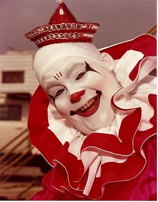 1982 - Clyde Beatty & Cole Bros Combined Circus - Clown