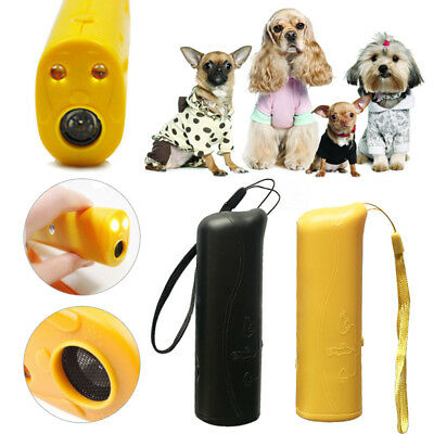 Ultrasonic Anti Stop Barking Puppy Train Repeller Control Trainer Device Pet Dog